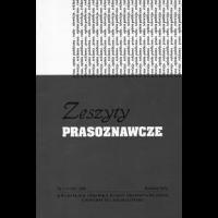 Ctekstyzeszyty Prasoznawcze 2011 207 208zp207 208vp